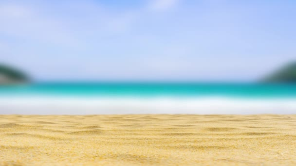 Strand homok textúra a tengerparton tenger háttér.