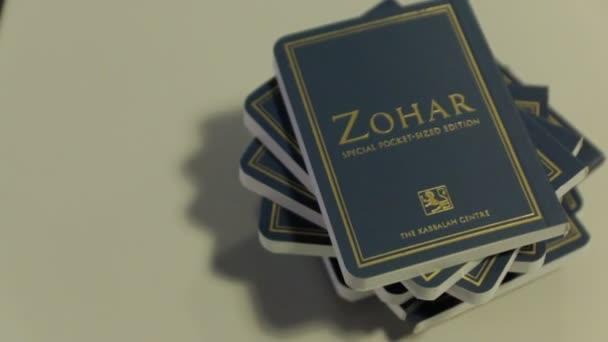 Kabbala Zohar könyvek