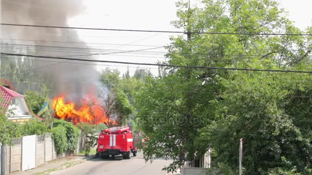 Hasičský vůz přijde na ohni