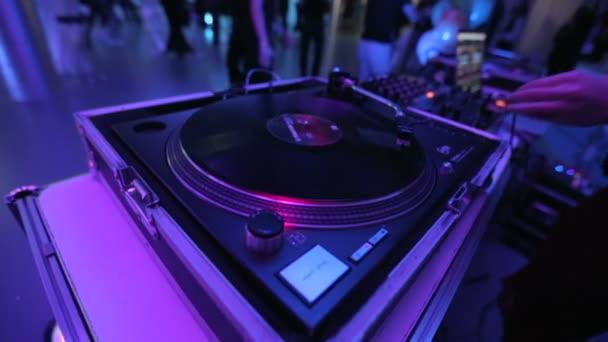 DJ konyhai robotgép vinil-rekordok