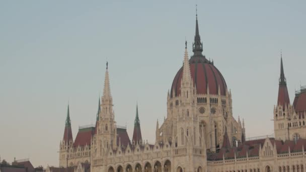 Budapest Building Of Hungarian Parliament
