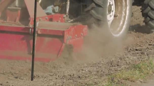 Tractor Prepare The Soil