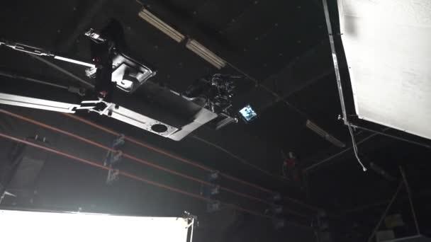 Studio Camera On The Crane