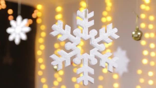 Dekorativní sněhová vločka dekorace