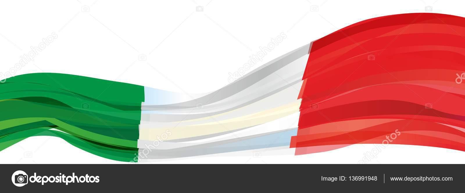 Green White Red Flag Italy Stock Photo C Salivit 136991948