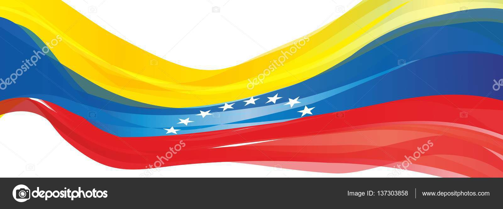 Bandera amarilla roja blanca