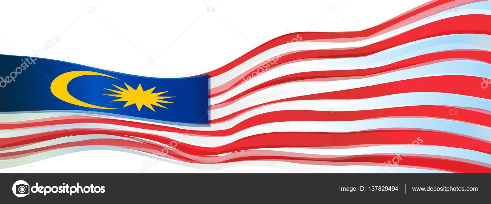 flagge rot blau gelber stern