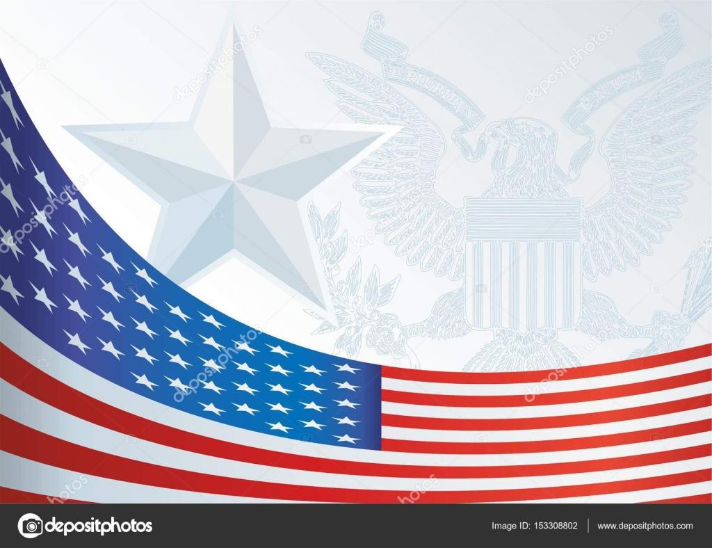 Flagge der Vereinigten Staaten, Vorlage für den Award, ein ...