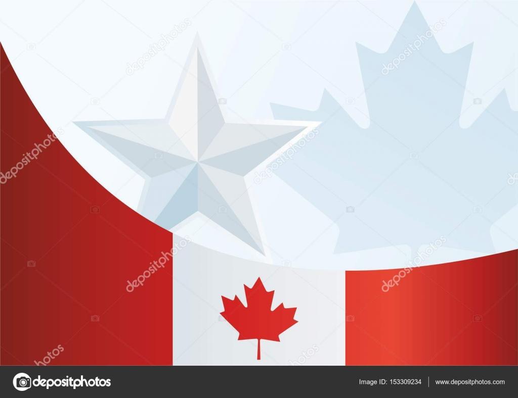Perfecto Plantilla De Bandera Canadiense Fotos - Ejemplo De ...