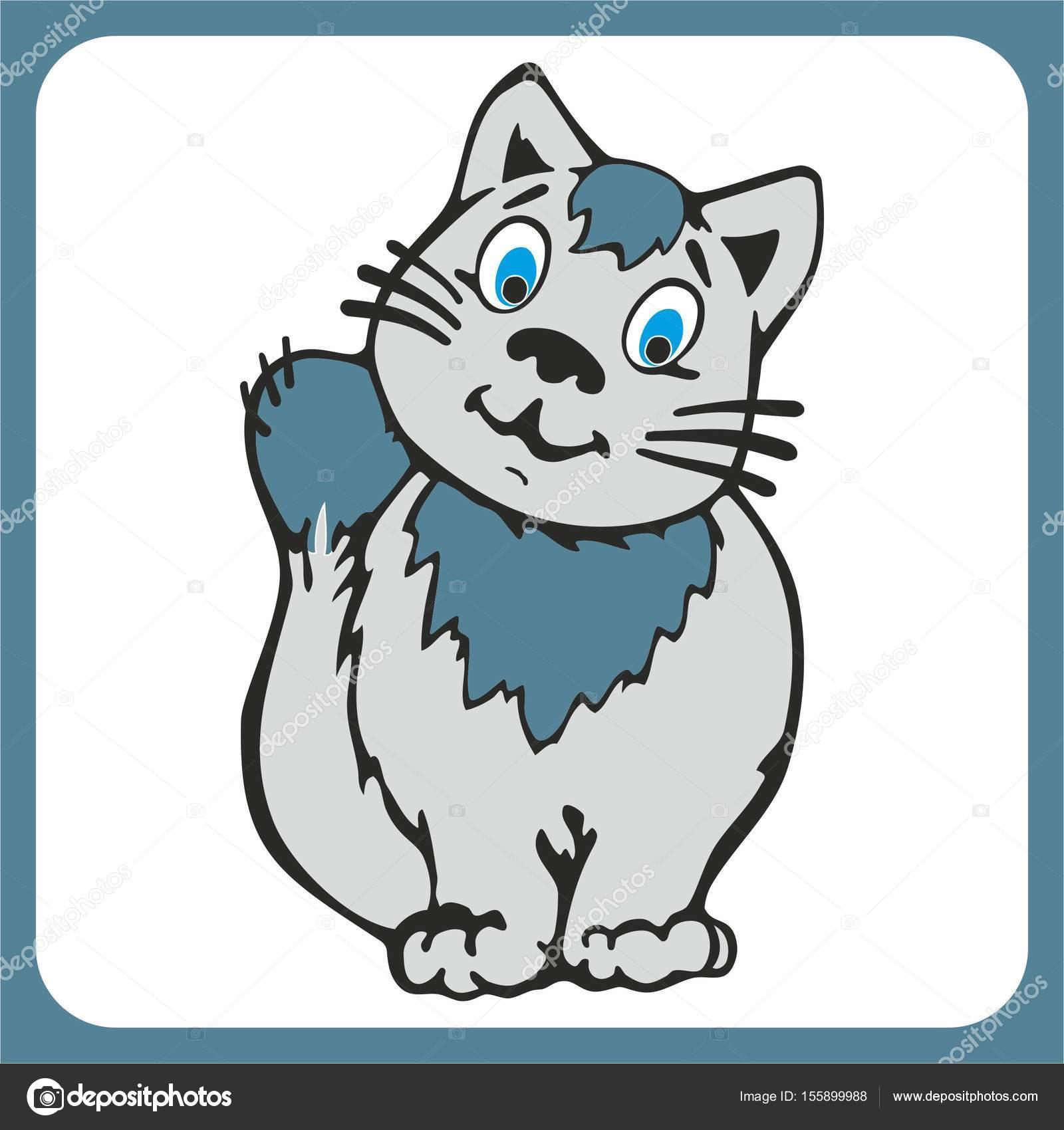 Fotos Gatos Para Dibujar Hermoso Gato De Dibujo Para Niños