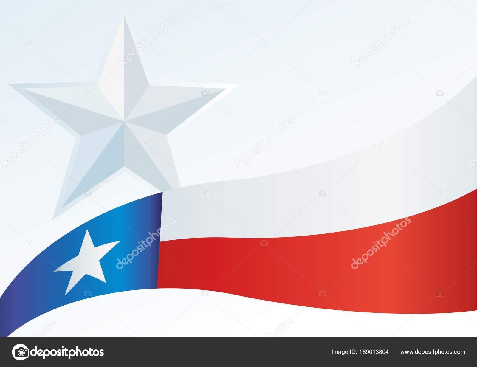 texas flag template award official document flag state texas stock