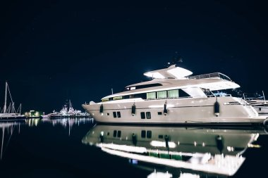Luxury yachts in La Spezia