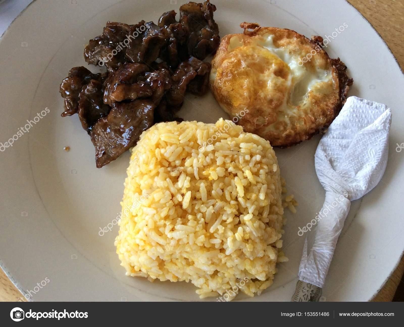 Tapsilog Favorite Filipino Budget Meal Stock Photo Image By C Raksybh 153551486