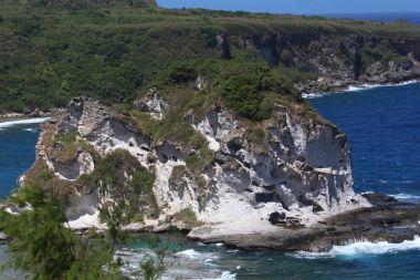 Close up of Bird Island, Saipan