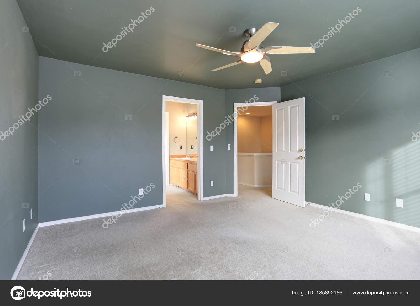 Muri Interni Grigi : Stanza vuota con soffitto grigio e colore della vernice muri grigi