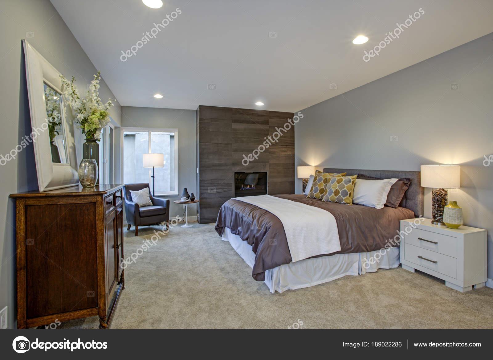 Splendida camera padronale con camino e terrazza privata al piano di ...