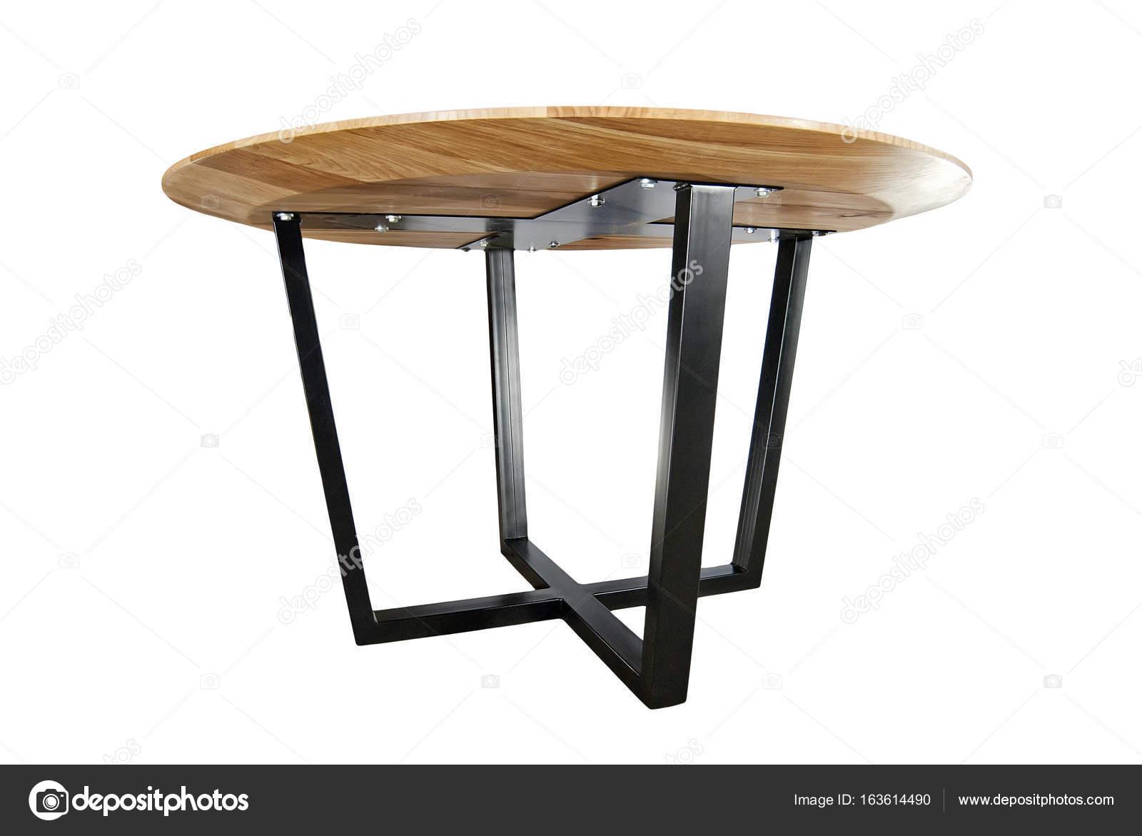 Gambe In Ferro Per Tavoli Di Legno.Tavolo In Legno Con Gambe In Ferro Foto Stock C Docentfoto Mail Ru