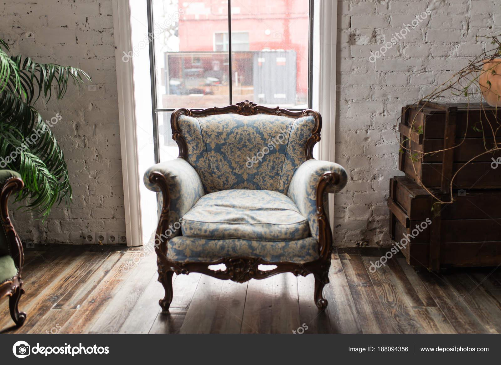 Klassischen Stil Sessel Sofa Couch Vintage Zimmer Luxuriöse Sessel