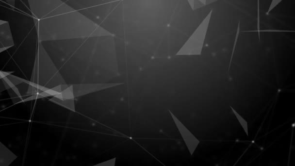 Plexus abstraktní technologie a inženýrské pozadí s původní organické pohybu