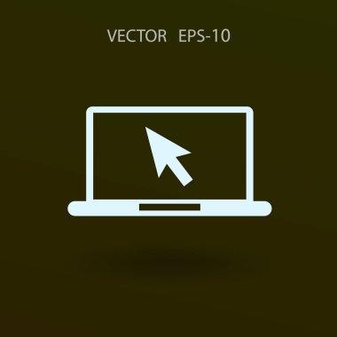 Internet icon. vector illustration