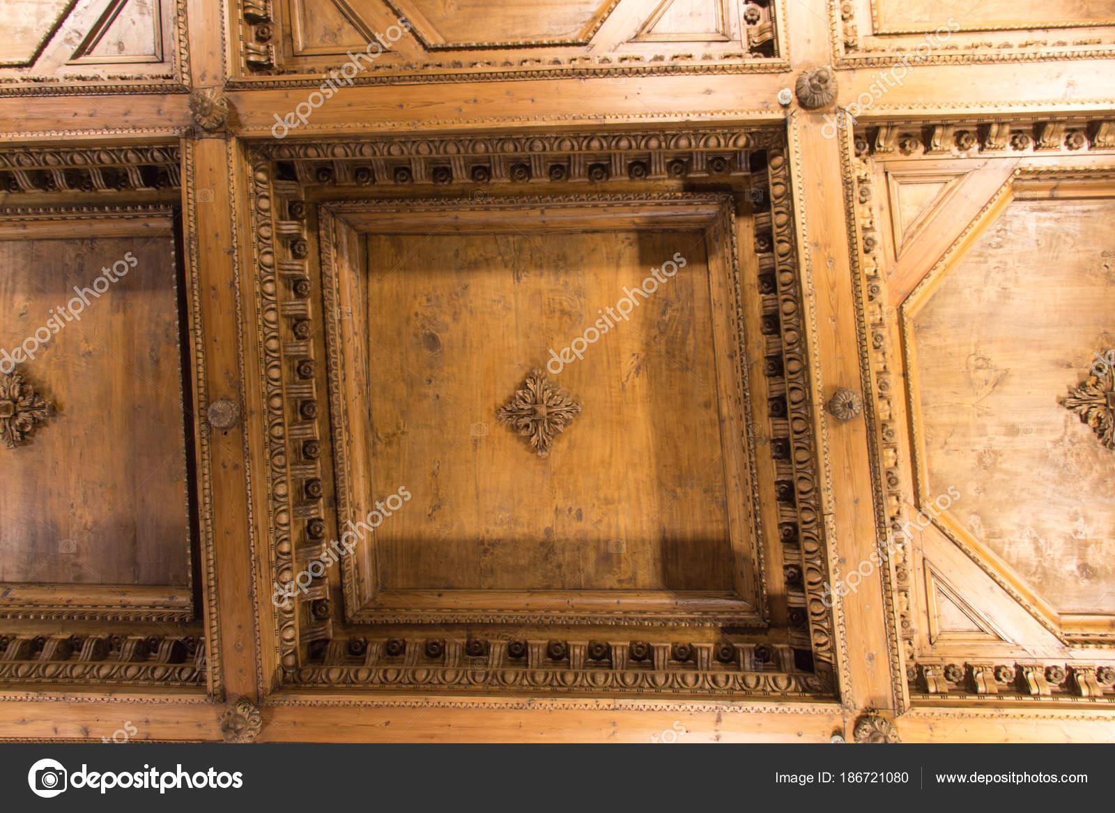 karta över florens italien Trätak fragment i hallen i geografiska kartor över Palazzo Vecchio  karta över florens italien
