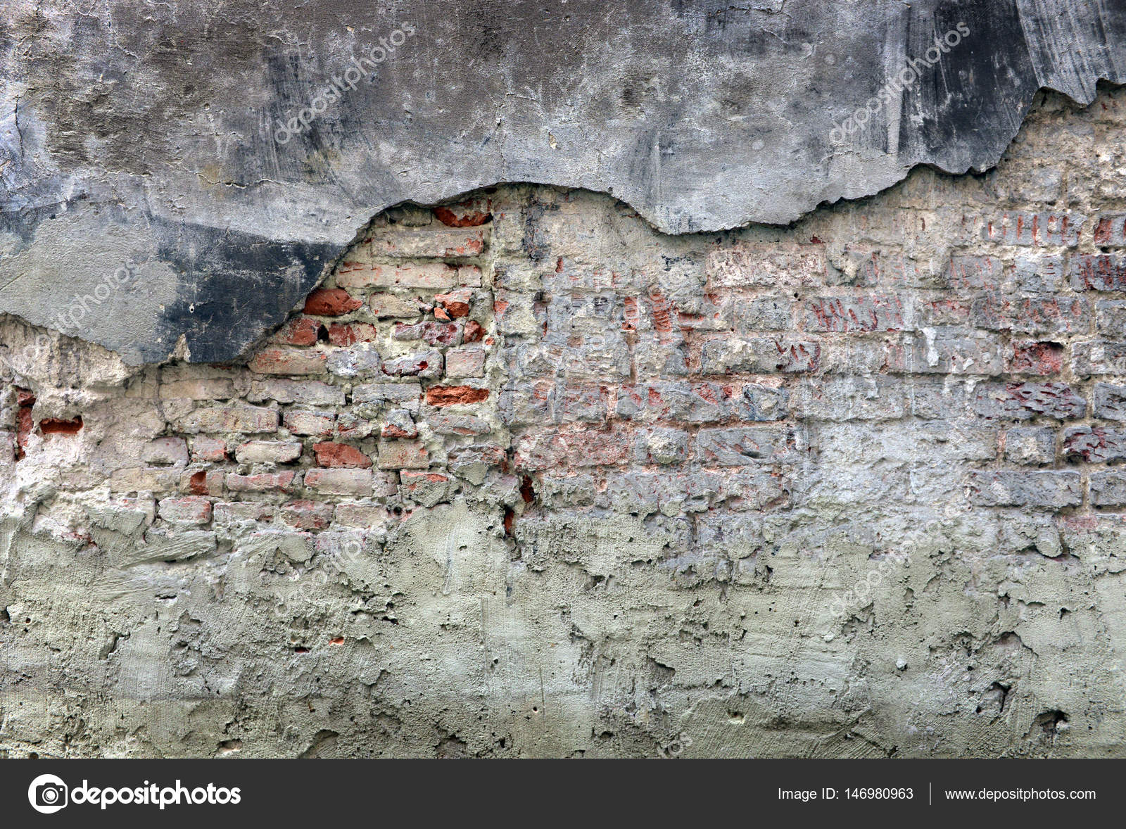 Vieux Mur Fond Texture Plâtre Peinture Minable Peinture Minable