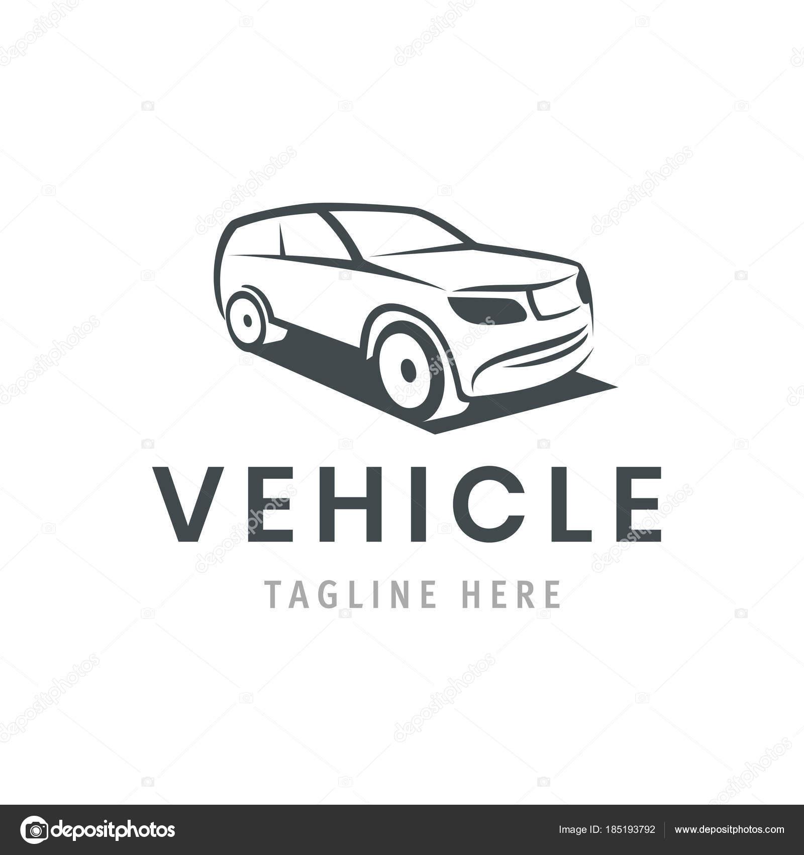 Plantilla de logo del vehículo. Icono coche de diseño de negocios ...