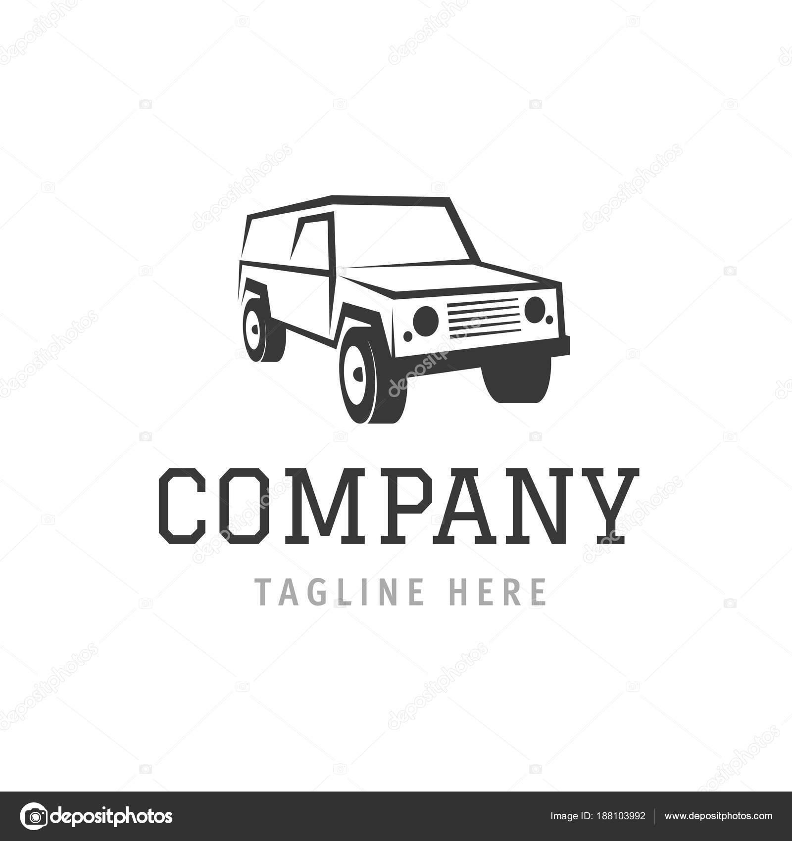 Coche empresa símbolo la plantilla. Auto lavado máquina servicio ...