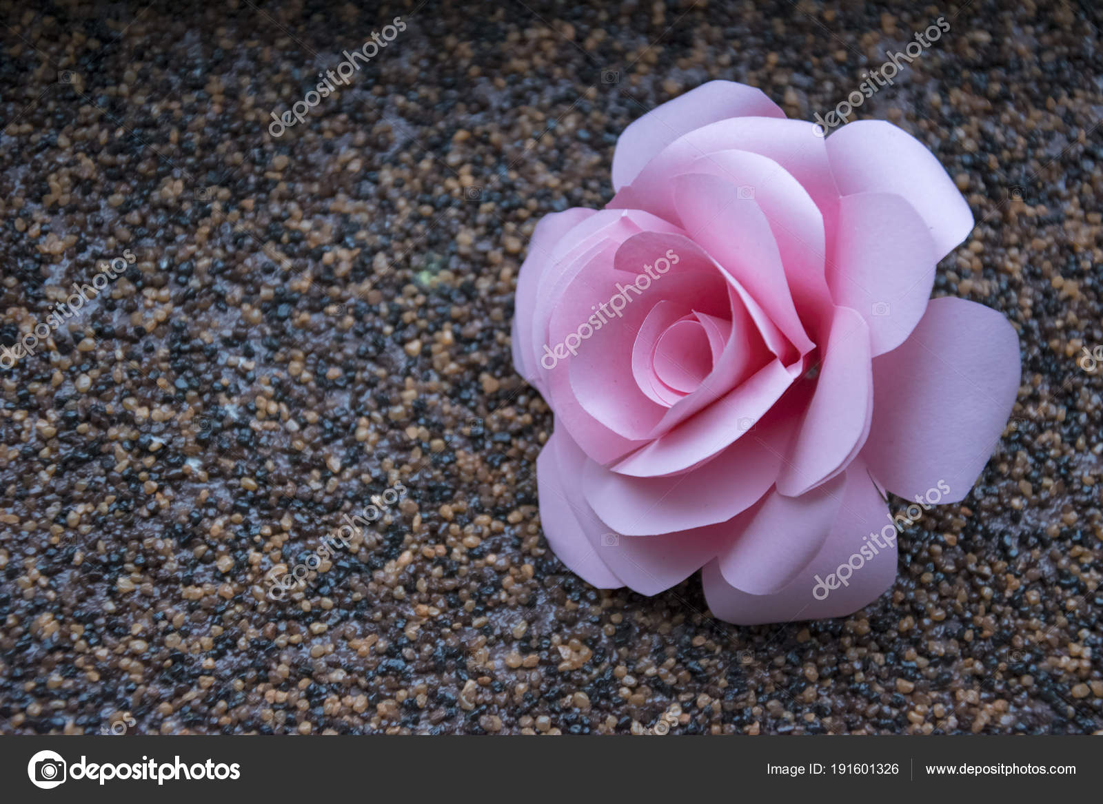 Pastel Paper Rose Wallpaper Wedding Or Valentine Day