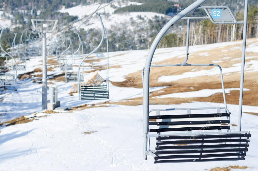 ski-lift does not work