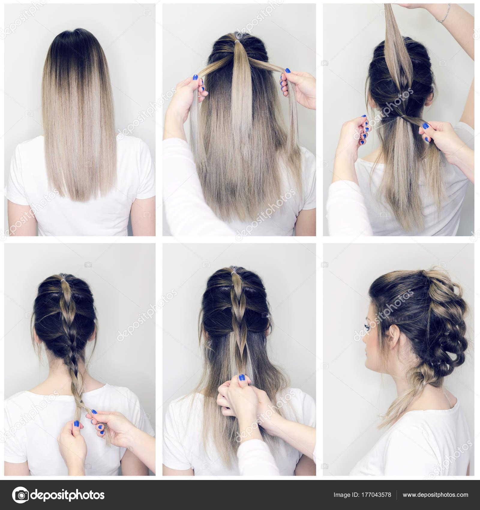Hairstyle Tutorial Hairdresser Making Amazing Hairstyles ...