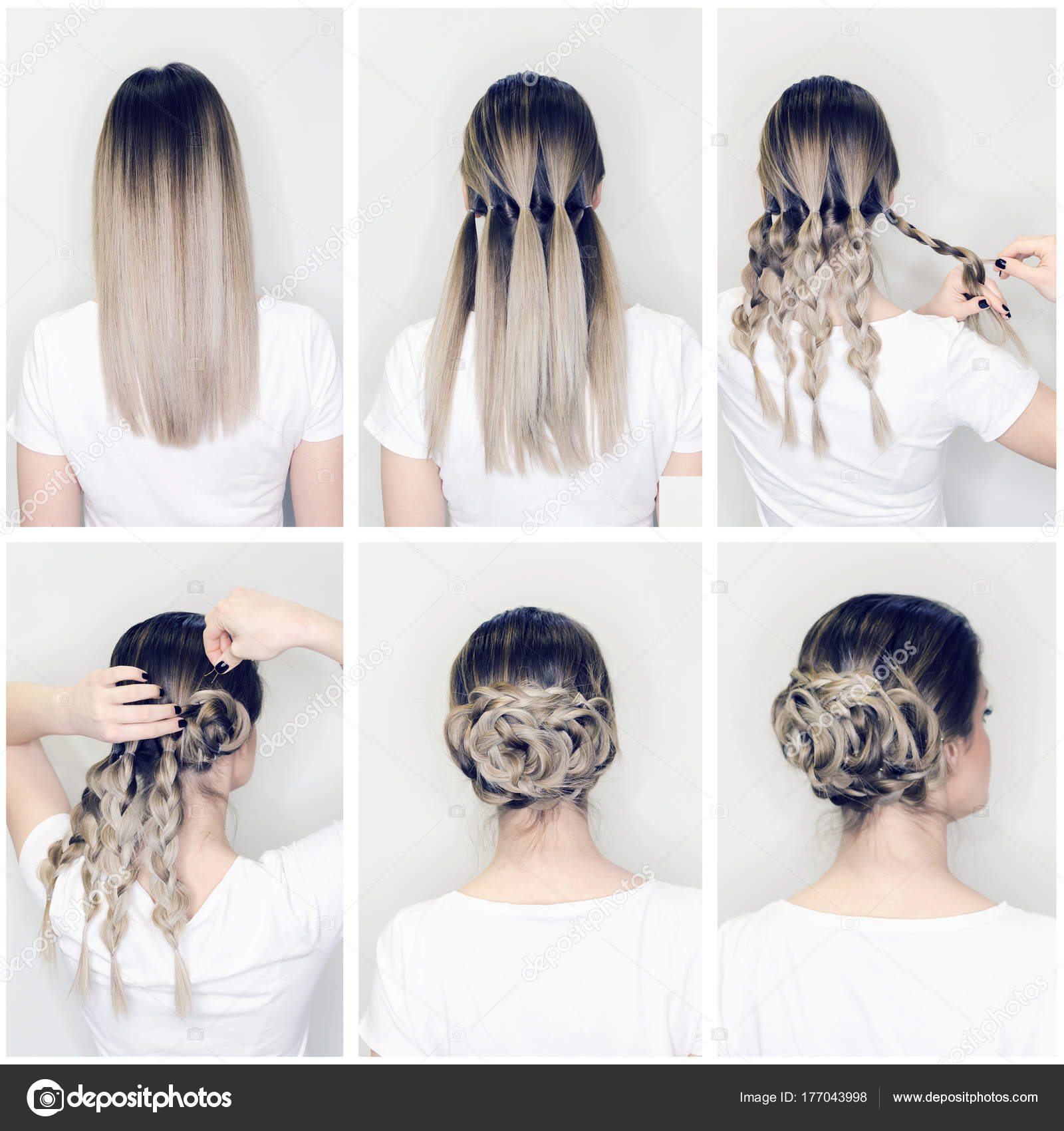 Pics: hairstyle step by step image | Hairstyle Tutorial ...