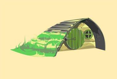 Fairytale hobbit house