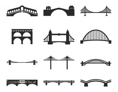 Bridge Icons Black & White
