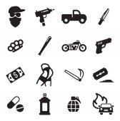 Moderní Gangster ikony