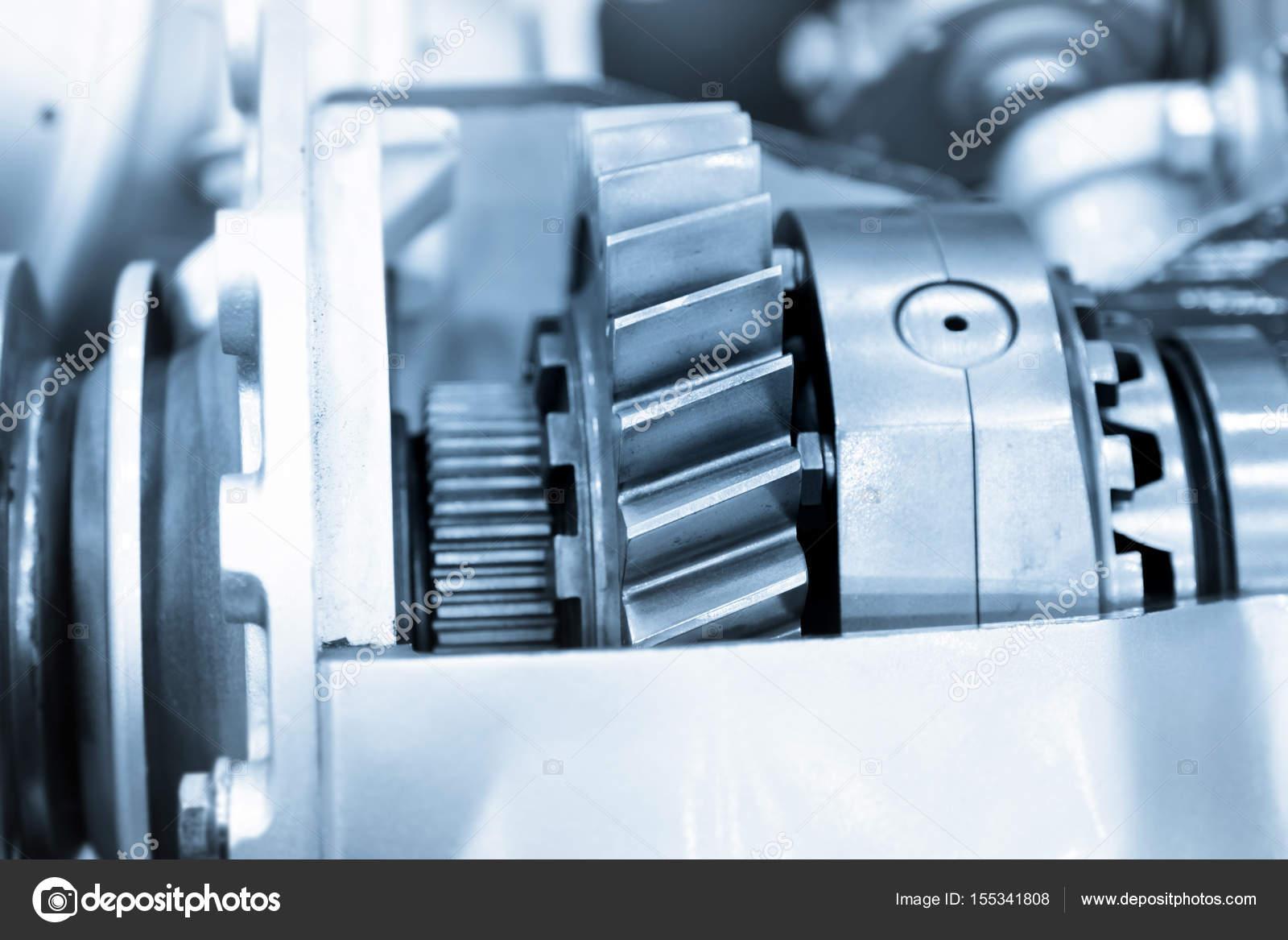 Kfz-Motor-Antriebsstrang-Komponenten — Stockfoto © snehitdesign ...