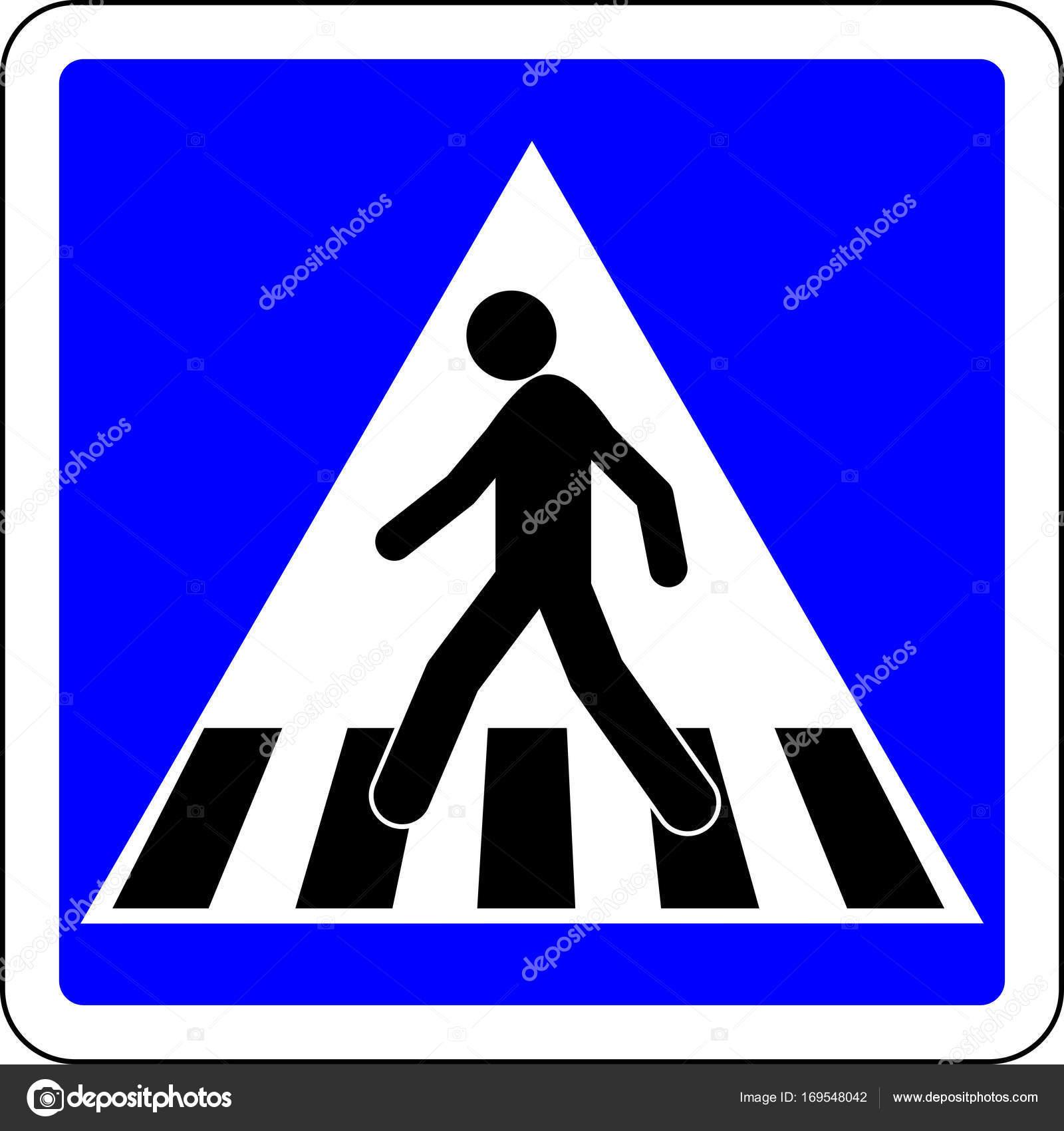 Пешеходные знаки картинки большой даже вечные