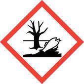 Výstražným štítkem s škodlivé chemikálie