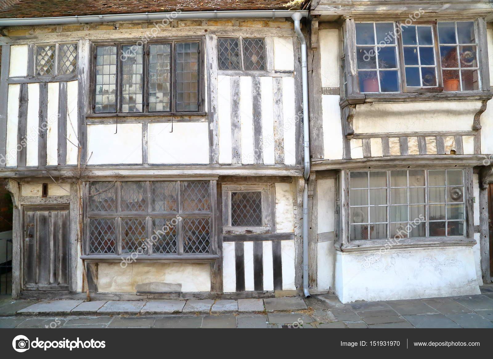 Hastings, Großbritannien: 16. Jahrhundert eingerahmt und ...
