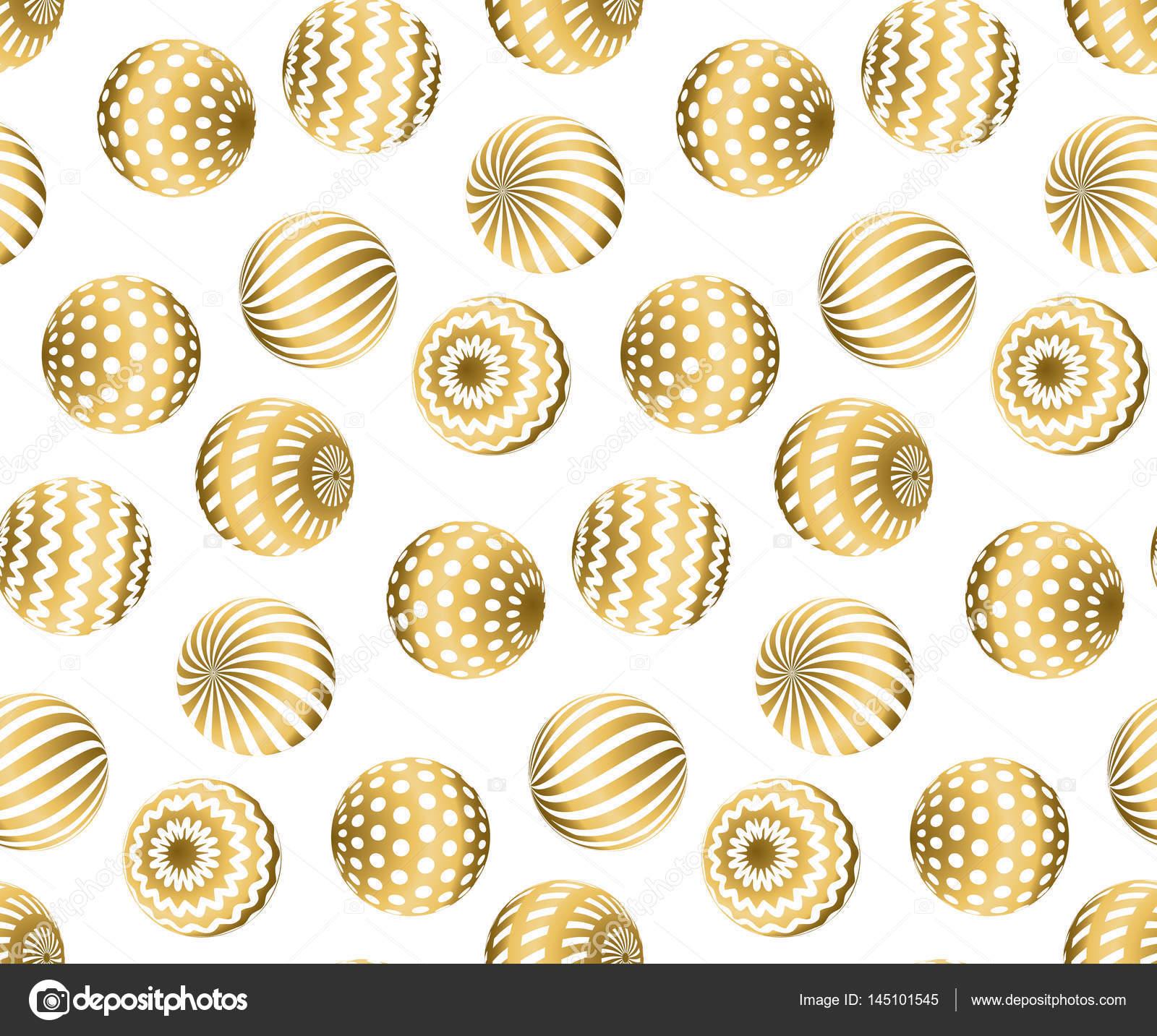 Resumen los granos patrón sin costuras en color oro de la Navidad ...