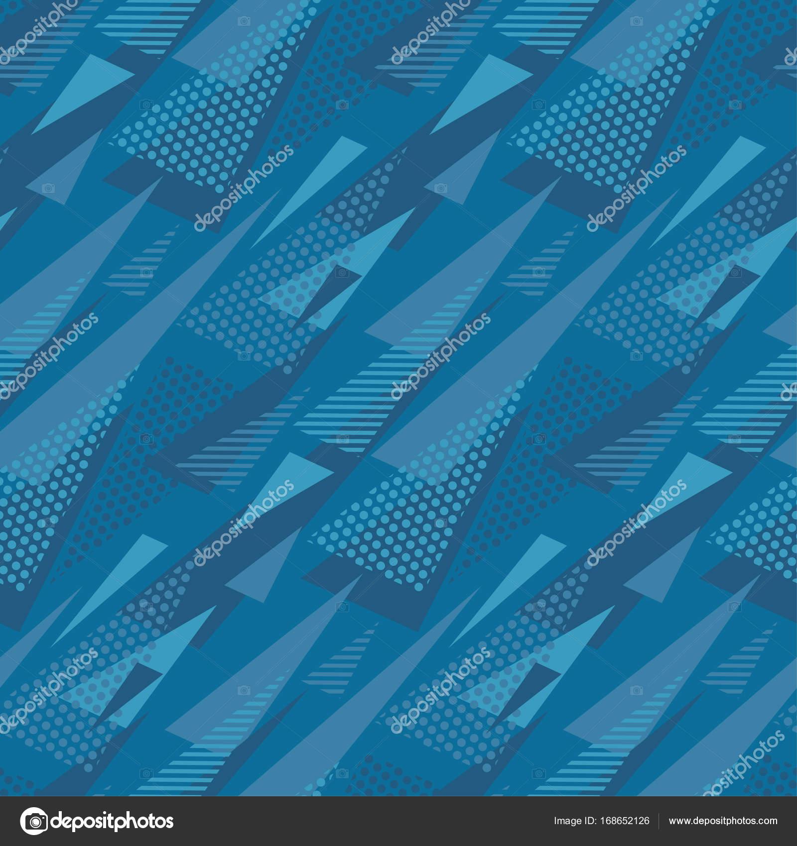 motif de triangle abstraite. couleur bleu marine concept abstrait