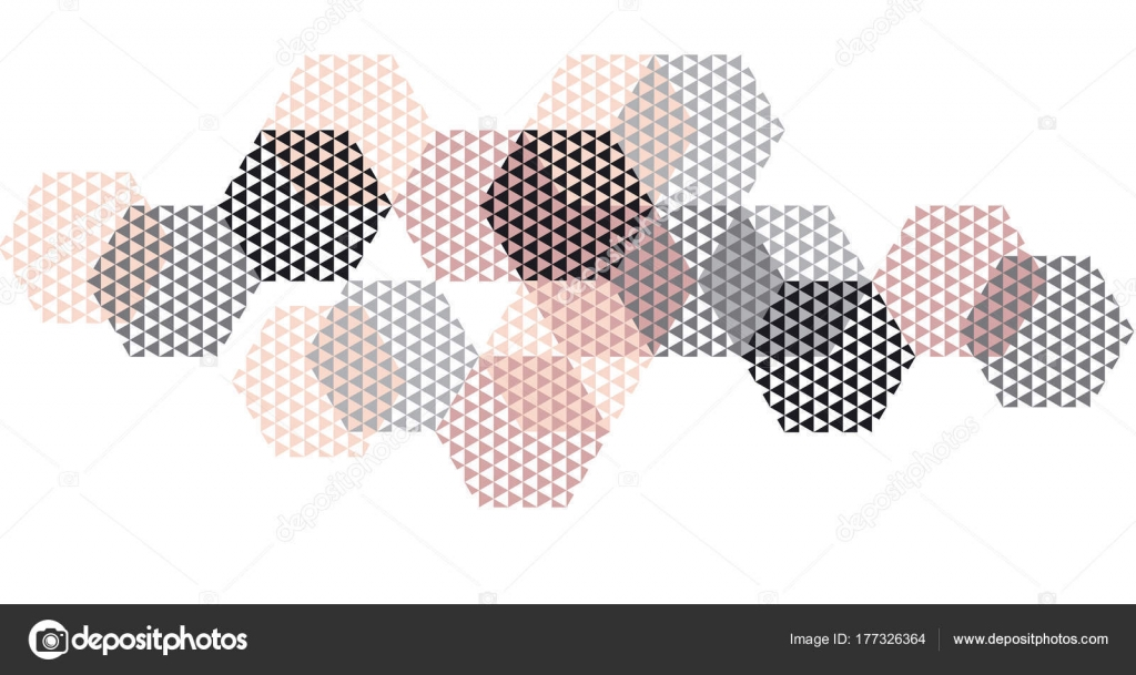 Geometrie-Header in Pastellfarben-Vektor-Illustration. Konzept ...