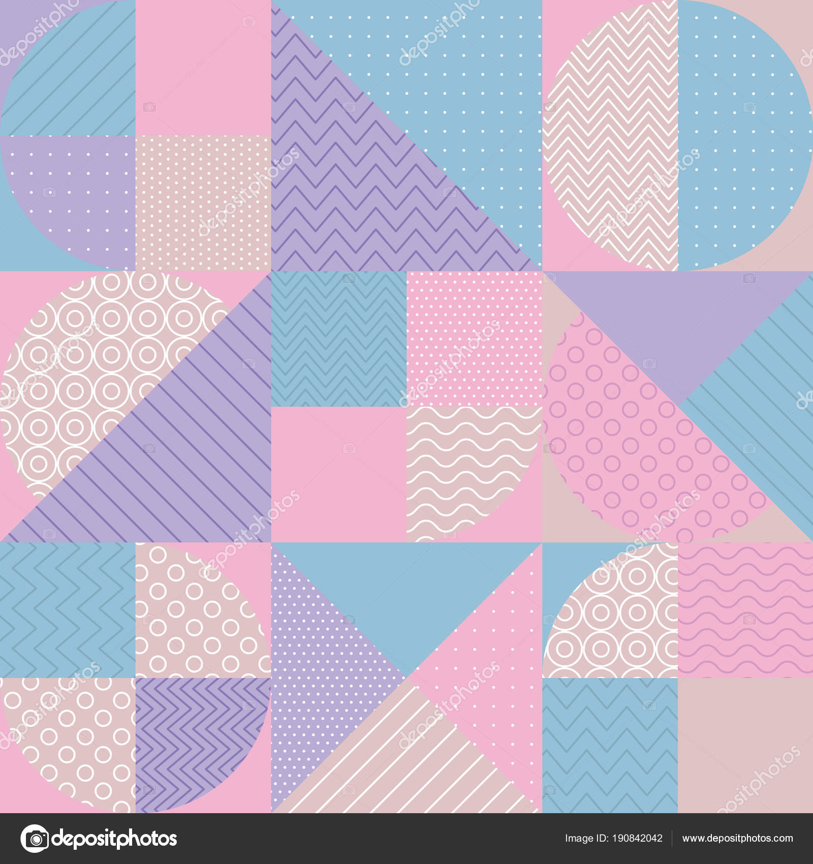 concept pastel color geometric pattern — Stock Vector © Galyna