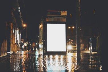 blank advertising light box