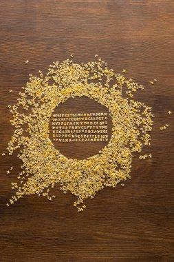 macaroni alphabet letters
