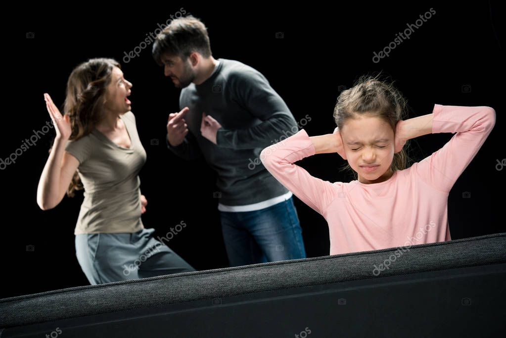 Family having conflict