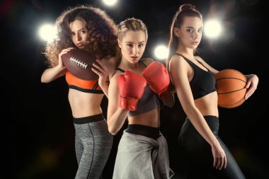 young sporty women