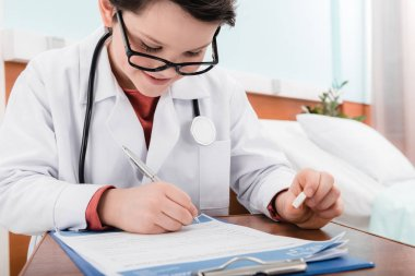 boy doctor in uniform