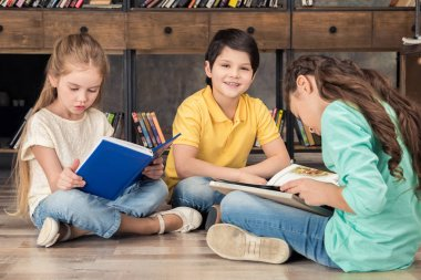 classmates reading books