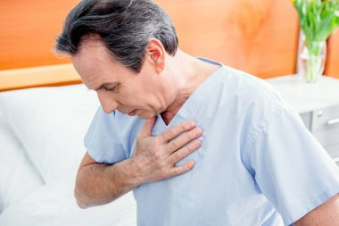 patient with chest pain